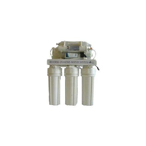 BlueClear-RO75-P fordított ozmózis (RO) víztisztító nyomásfokozó pumpával, nyomástartállyal